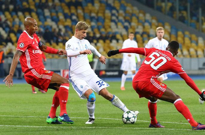 Лига чемпионов: поражение Динамо, погром Сити и мощный Бешикташ