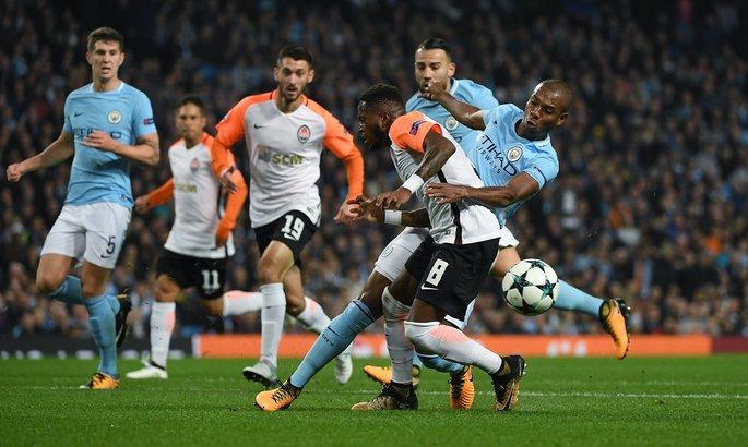 Лига чемпионов: Шахтер уступает Манчестер Сити