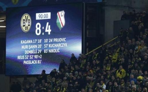 Лига чемпионов: слишком много голов не бывает