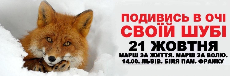 У Львові відбудеться ще один Марш за права тварин
