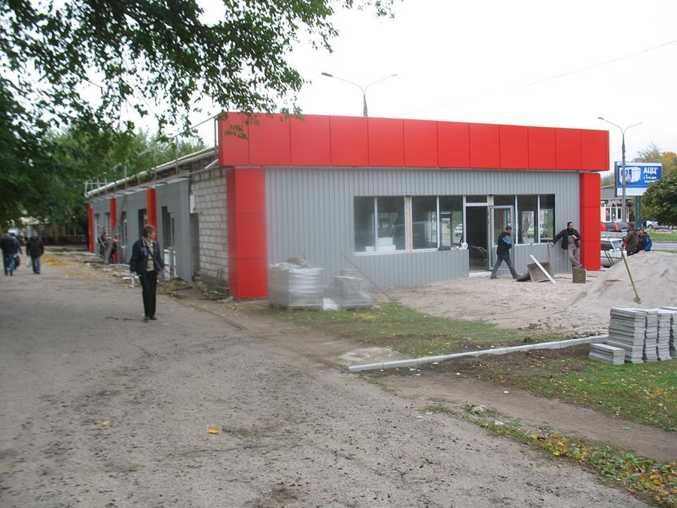 В Хортицькому районі продовжується незаконне будівництво торгівельного центру (ФОТО)