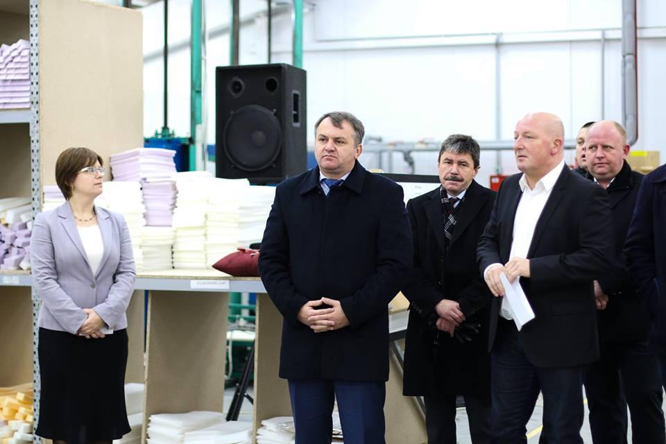 На Львівщині відкрили нове підприємство на 600 робочих місць