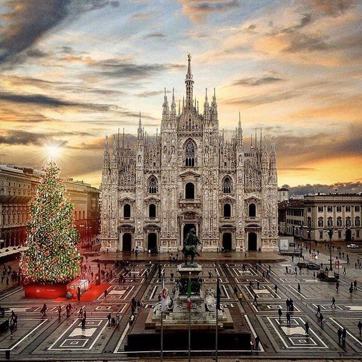 Фото дня: новорічний настрій у Мілані