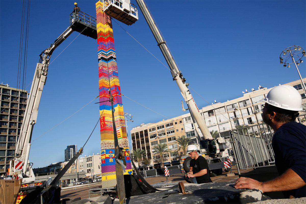 В Ізраїлі побудували найвищу вежу з Lego