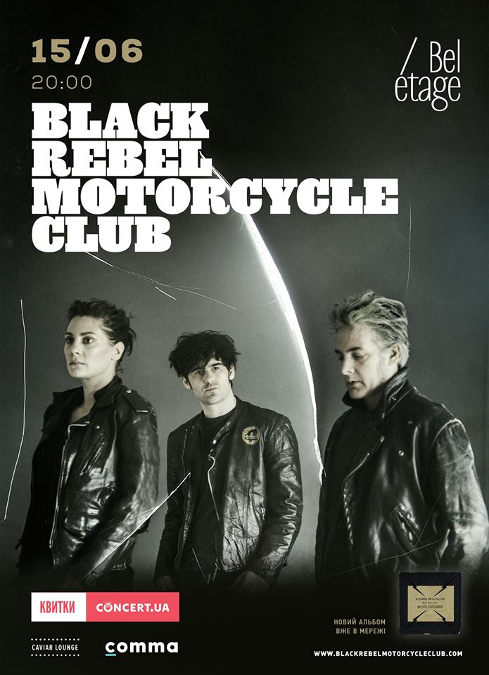 Black Rebel Motorcycle Club BelEtage