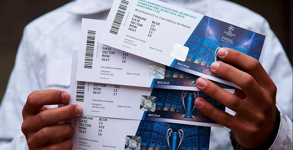 Сайт УЕФА запустив продаж квитків на київський фінал Ліги чемпіонів