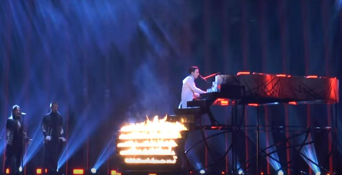 Видео дня: первая репетиция MELOVIN на Евровидении 2018