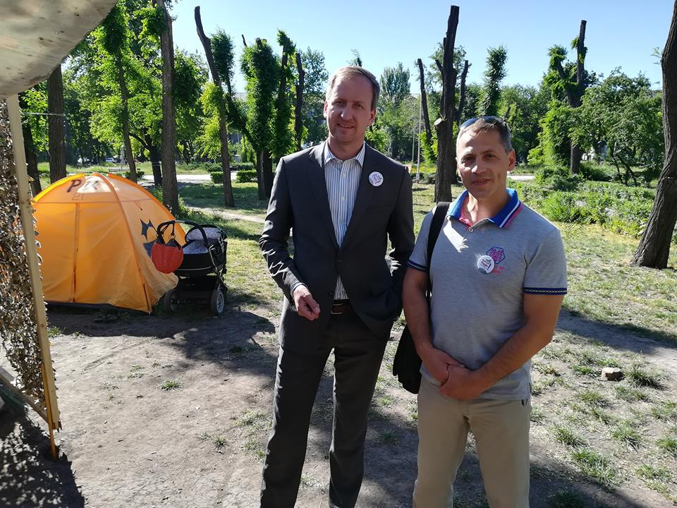 Делегат з Німеччини, який приїхав на Еко форум став захисником парку Яланського