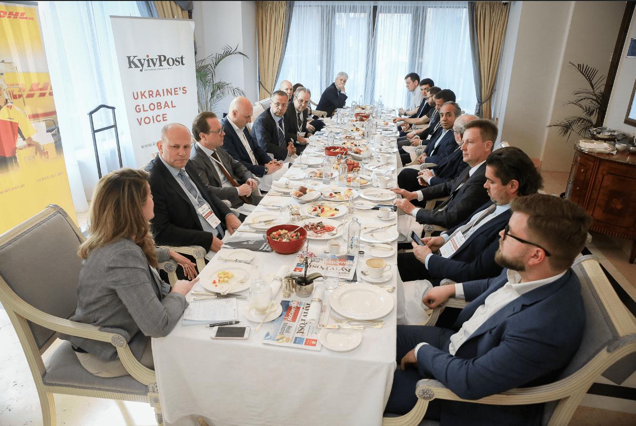 Наливайченко выступил на 14-м собрании директоров международных компаний, работающих в Украине