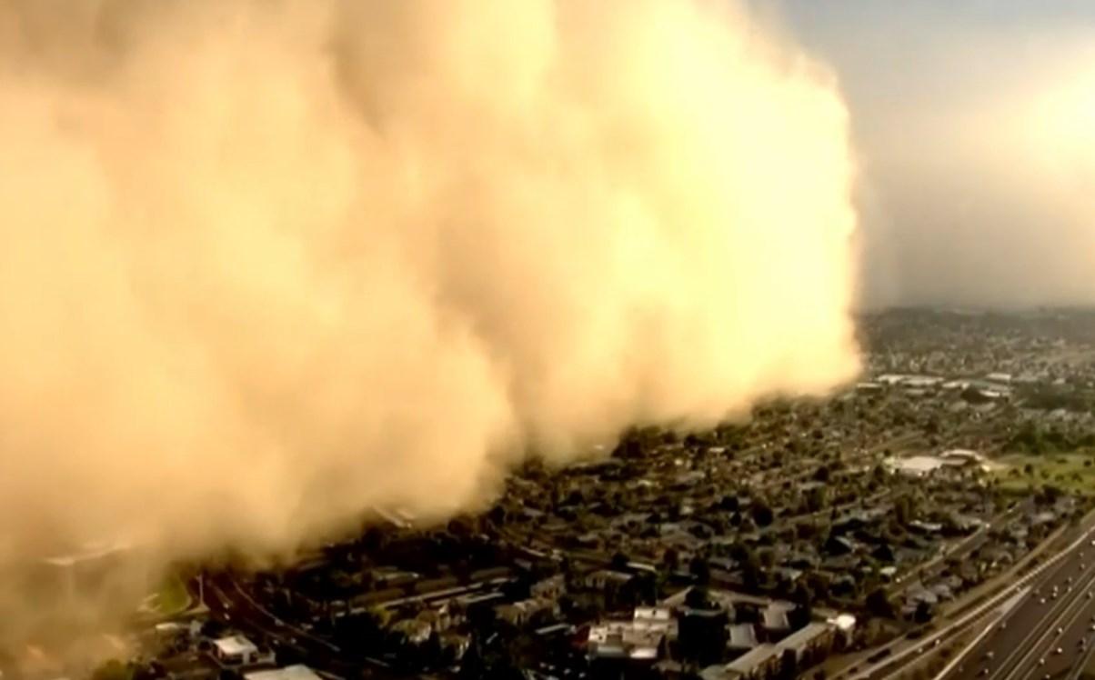 Американським Фініксом пронеслась страшна пилова буря – ВІДЕО