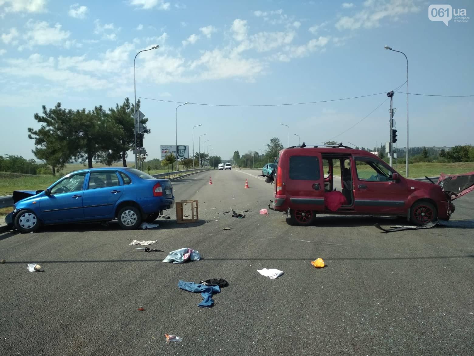 Серьезное ДТП в Хортицком районе Запорожья: 5 человек получили травмы – фото