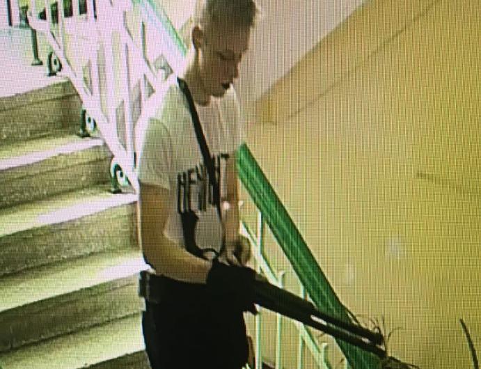"""Парень, который устроил взрыв и стрельбище в колледже Керчи, был поклонником Путина, и последователем """"рашизма"""" (фото, видео)"""