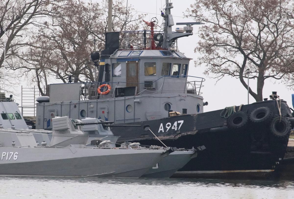 Українські судна брали в полон колишні співробітники СБУ