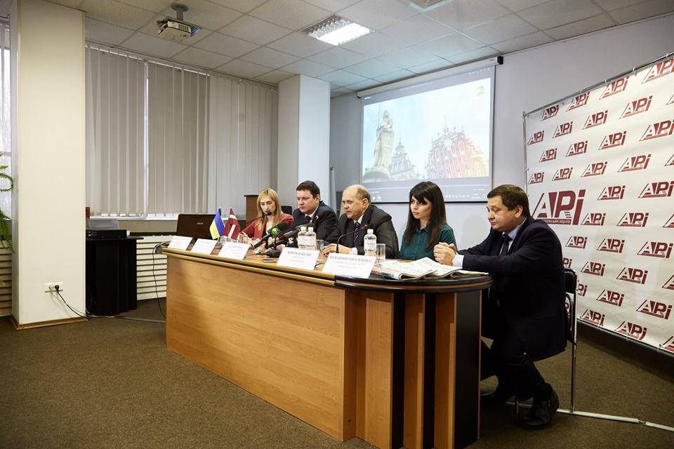 Презентация фильма о Латвии состоялась в Запорожье в рамках инициативы Представительства ЕС в Украине Team Europe
