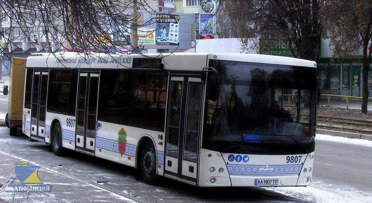 У Запоріжжі затвердили появу маршруту, на якому працюватимуть великі автобуси