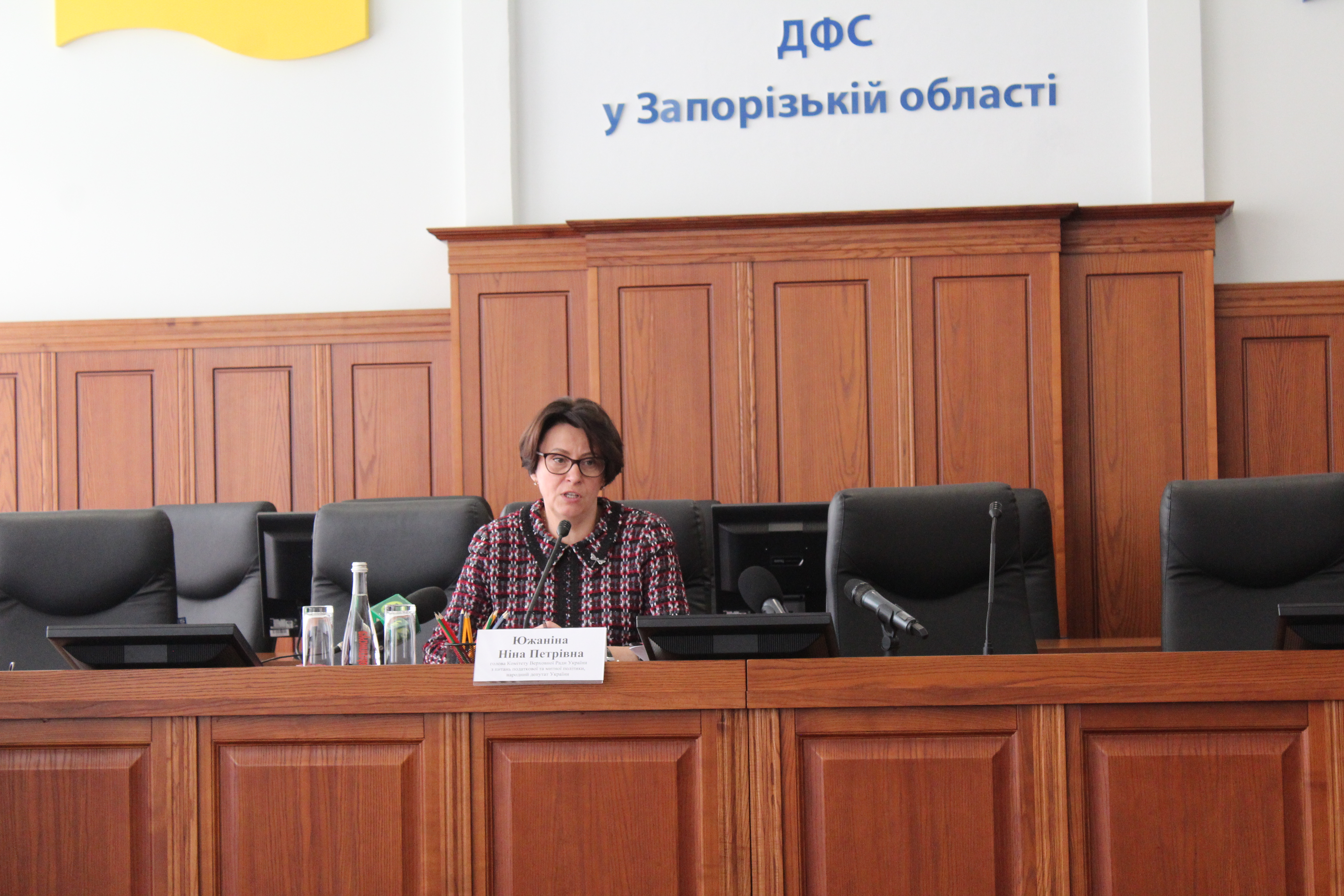 Ніна Южаніна: «За президентства Порошенка закладено хороший фундамент сучасної системи оподаткування, бізнес уже відчуває її переваги»