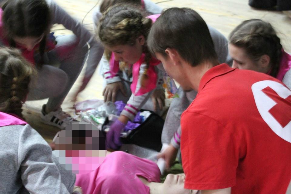 В Запорожье детям стало плохо от вида крови