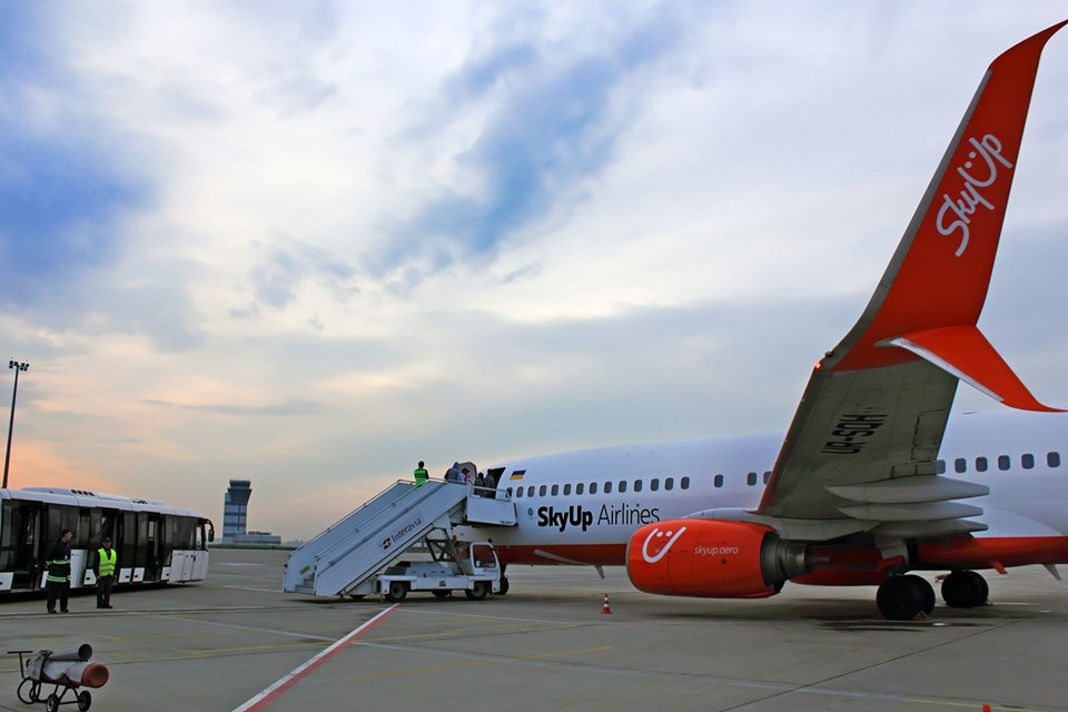 Іспанські канікули: з аеропорту Запоріжжя запустили новий рейс