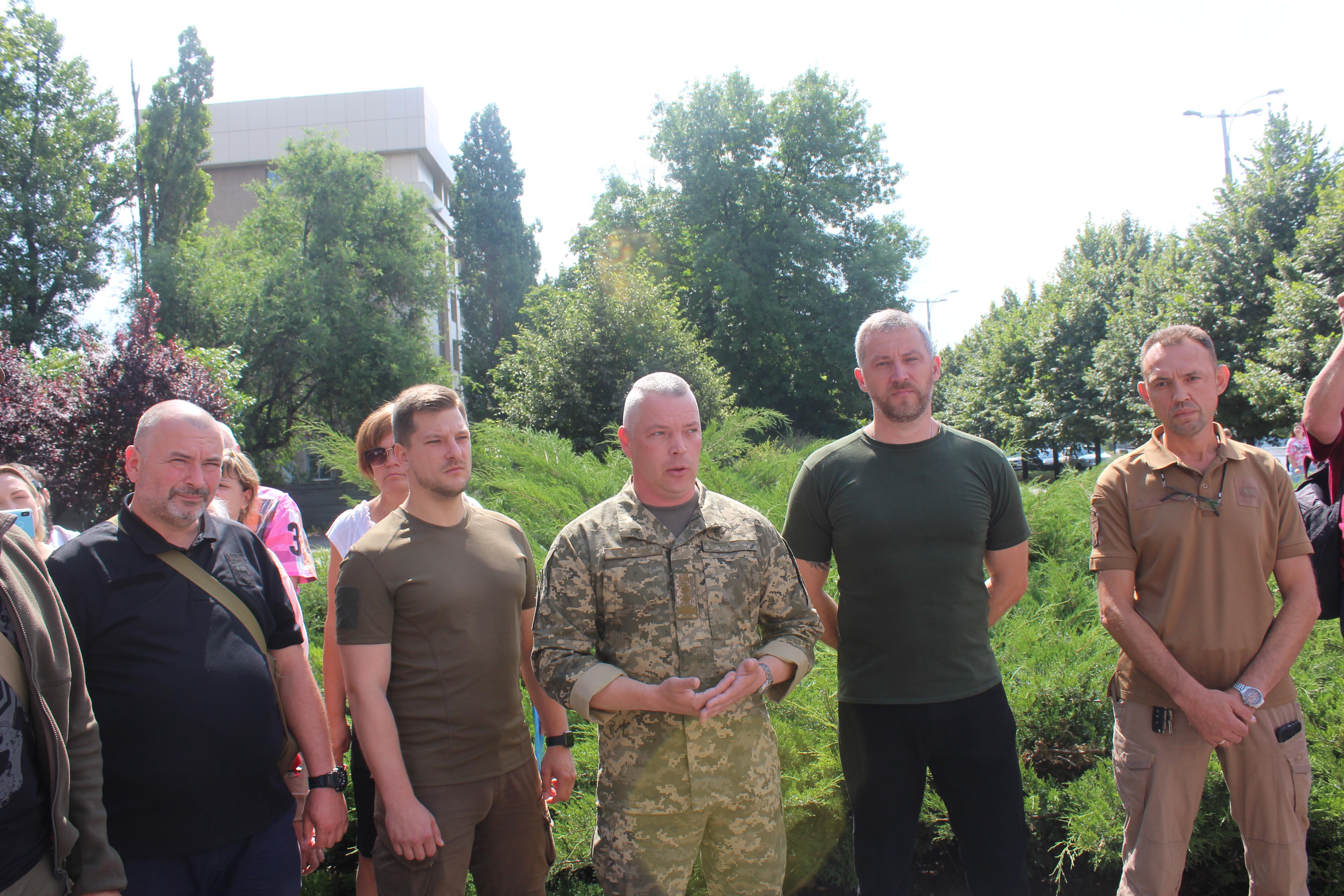 Командувач АТО Михайло Забродський: У команді «Європейської Солідарності» люди, що зберегли для нас Україну, вони не впустили на поріг війну