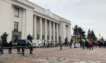 Сьогодні поліція Києва працює у посиленому режимі через акції протестів