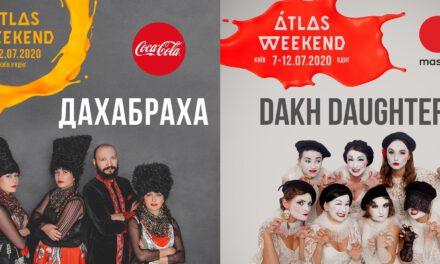 Українські етногурти ДахаБраха та Dakh Daughters поповнили лайнап Atlas Weekend 2020