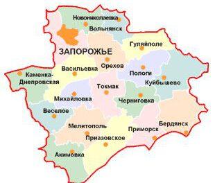 Географія зараження COVID-19 в Запорізькій області розширюється