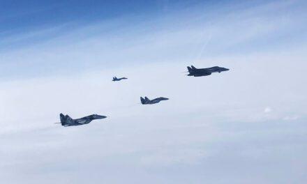 В українському повітряному просторі сьогодні були бомбардувальники США