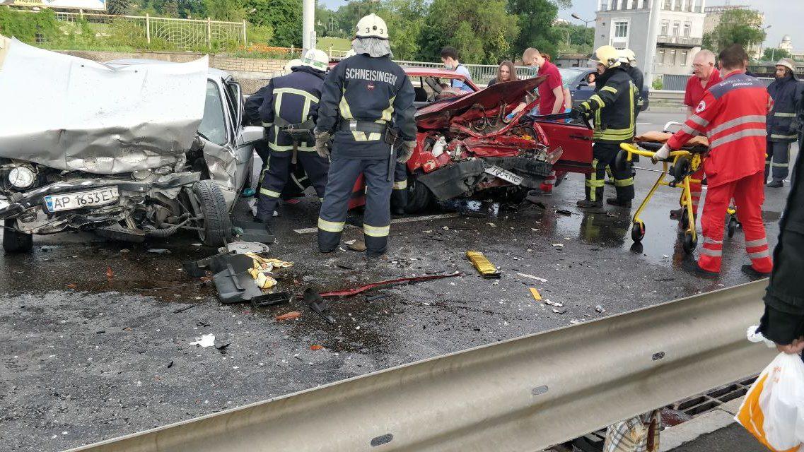 У поліції розказали деталі аварії на греблі в Запоріжжі