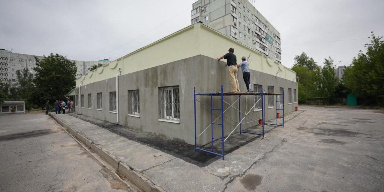 У спальному районі Запоріжжя будують амбулаторію, з'явилися фото процесу