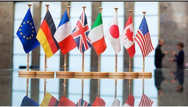 Посли G7 закликали владу Зеленського не руйнувати державні інституції