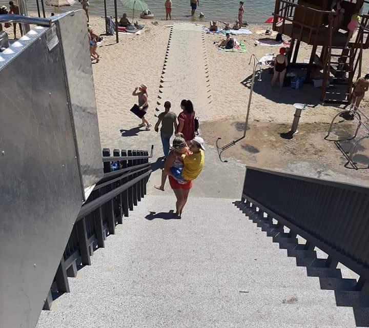 Міський голова Запоріжжя покарав причетних до неякісно зробленого Правобережного пляжу
