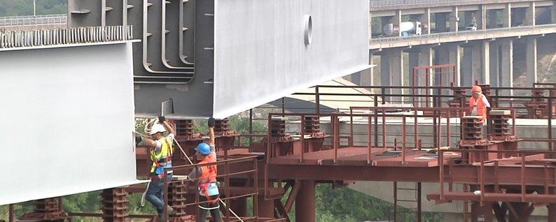 Будівництво мостів у Запоріжжі: містяни будуть їздити лише по половині мосту. Частина-1
