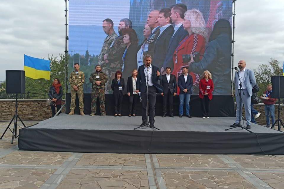 """""""Європейська Солідарність"""" у Запоріжжі представила кандидата на посаду міського голови"""