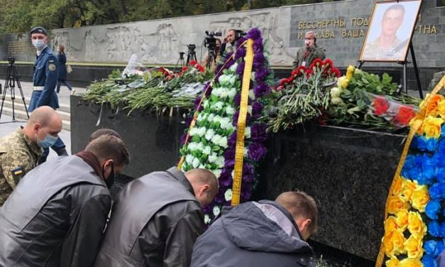 У Харкові попрощалися з курсантом, який загинув в авіакатастрофі — відео