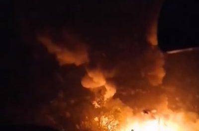 Авіакатастрова в Харківській області, повідомляють про загиблих – відео