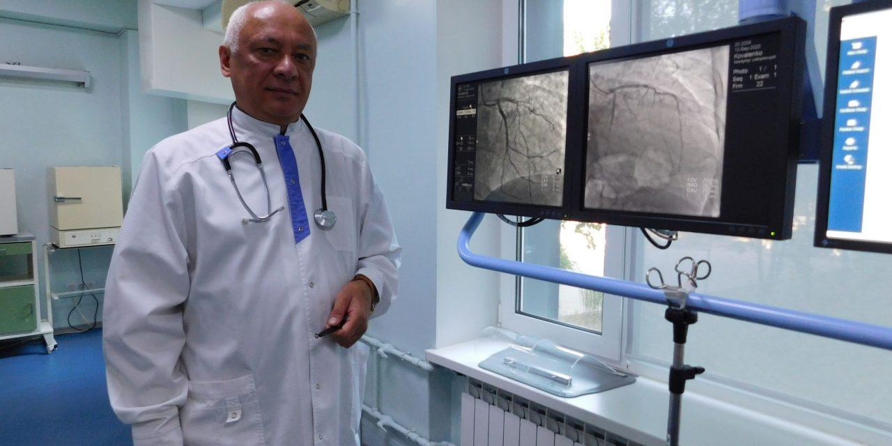 Головний лікар кардіодиспансеру в Запоріжжі провів екскурсію по закладу та показав як рятують людей