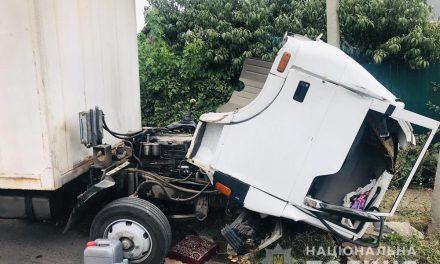 У Запоріжжі водій фургона допустив зіткнення з електроопорою й загинув
