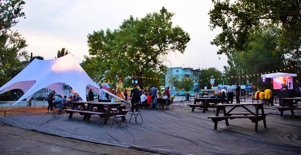 У Запоріжжі відкрили унікальний громадський простір – фото
