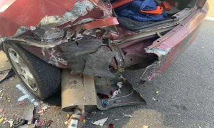 ДТП у центрі Запоріжжя, водій розтрощив автомобіль – фото