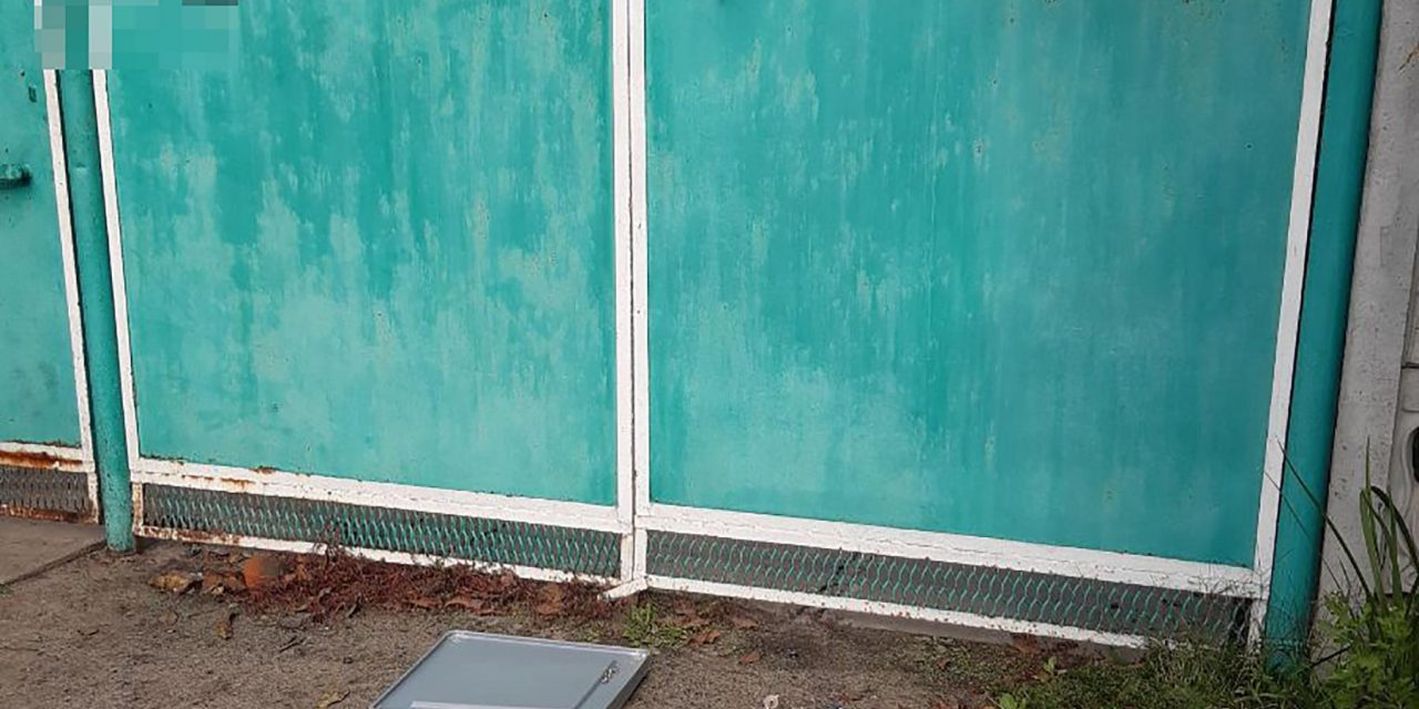На Запоріжжі з дільниці вкрали урну для бюлетенів