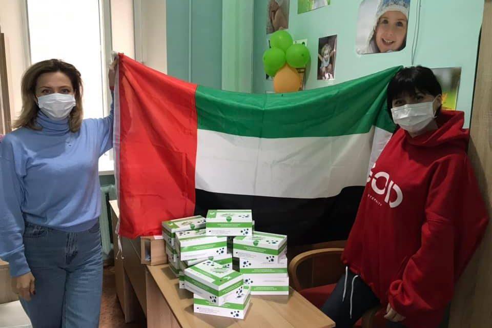 Запорізькі лікарні отримали допомогу від Посольства ОАЕ