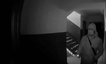 Приватні камери зафіксували в Запоріжжі квартирних крадіїв