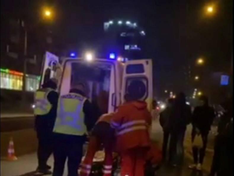 Біля 5-ї лікарні в Запоріжжі збили молодого хлопця