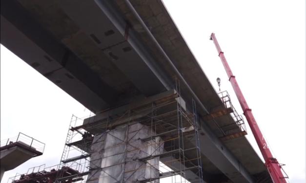 Репортаж з будівництва мостів через Дніпро у Запоріжжі – відео