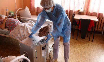До лікарень в Запоріжжі завезли кисневі концентратори – фото