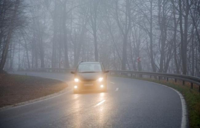 Ожеледиця та туман: мешканців Запоріжжя й області попереджають про несприятливі погодні умови