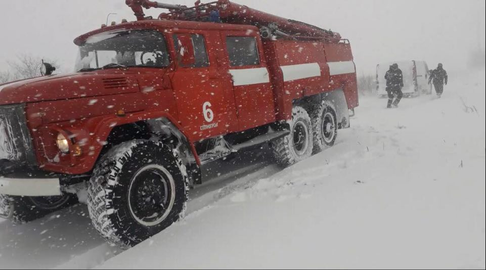 Рятувальники Запорізької області врятували 9 людей, які постраждали через негоду – фото