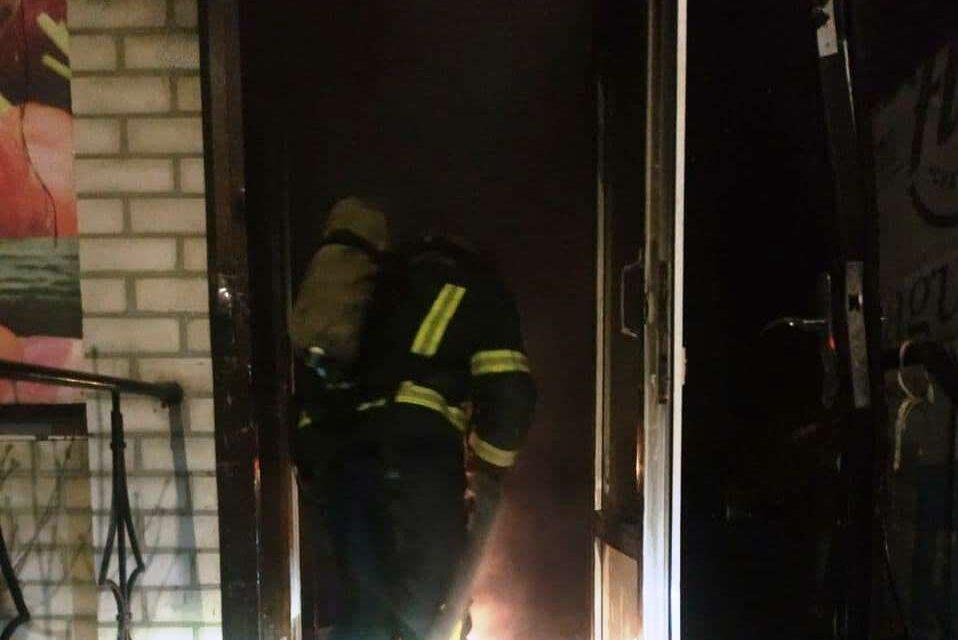 В інфекційній лікарні Запоріжжя знову працювали пожежники
