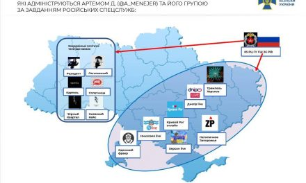 Запорізький Telegram-канал зарахували до агентурної мережі спецслужб РФ