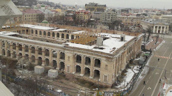 Влада Києва продовжує боротьбу за Гостинний двір на площі Контрактовій, ситуація застопорилася